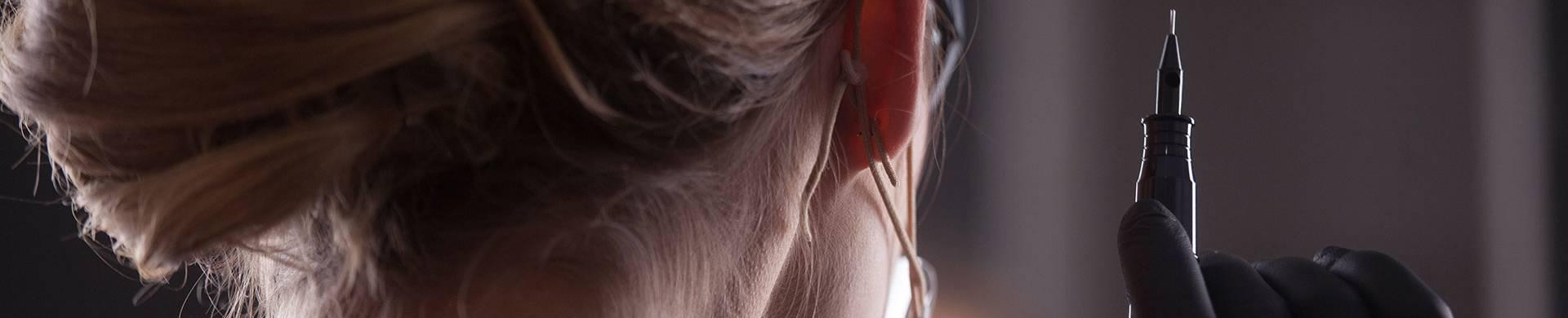 Zdjęcie mikropigmentacji skóry głowy